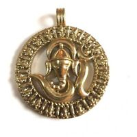 Ganesh Brass Quality Pendant Handmade in Napal #P1
