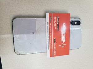 Apple iPhone X - 64GB - Silver (Unlocked) A1901 (GSM) (CA)
