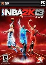 NBA 2K13 PC BRAND NEW FACTORY SEALED!!!