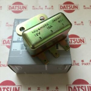 DATSUN 1200 Horn or Passing Light Relay Genuine (For NISSAN Sunny B110 B120)