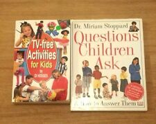 TV-free Activities for Kids by Di Hodges + Questions Children Ask by M Stoppard