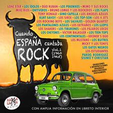 CUANDO ESPAÑA CANTABA ROCK 1960-1965  Vol.1-2CD
