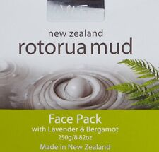 NEW ZEALAND Wild Ferns Rotorua Mud Face Pack / Mask 250g with Lavender &Bergamot