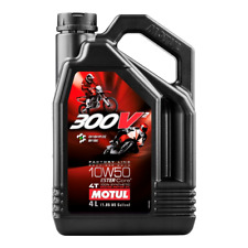 Motul 300V2 10W50 10W-50 4T FACTORY LINE Motorcycle Synth ENGINE OIL 4L 450299