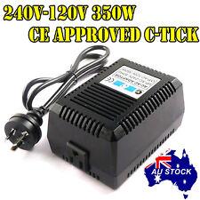 240V-120V 110V 350W Power Supply Stepdown Transformer for USA blender Amplifier