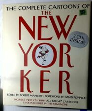 The Complete Cartoons of the New Yorker with Two CD's - 2004 Original Packaging