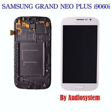 DISPLAY+TOUCH SCREEN+COVER SAMSUNG GALAXY GRAND NEO PLUS GT i9060i FRAME BIANCO
