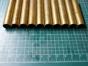 CuZn37 ca 1000 mm lang Legierung Ms63 B/&T Metall Messing Rohr /Ø 12,0 x 1,0 mm rund