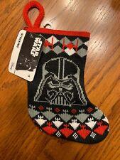 Ruz Disney Star Wars Mini 7 Inch Christmas Knitted Stocking New !