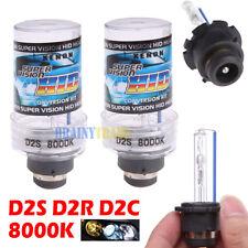 New 8000K D2S D2R D2C HID Xenon Bulbs Replace Factory HID Headlight Pair