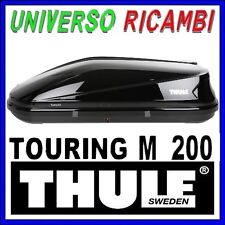 BOX TETTO PORTATUTTO AUTO THULE Touring M 200 NERO LUCIDO Dual-Side 400 Litri