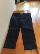 Old Navy Pixie Size 8 R Navy Blue Cropped