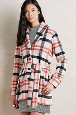 Hetty Coat - Cartonnier Size M Plaid Jacket NWT