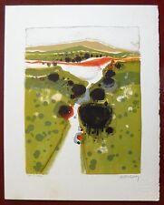 Menguy Frederic Lithographie Originale signée numérotée art abstrait Deprest