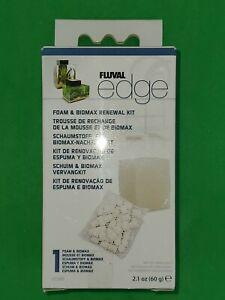 Fluval Edge Replacement Foam & Biomax Filter Aquarium Fish Tank Media