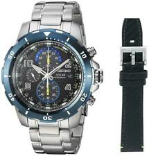 Seiko Solar Jimmy Johnson Special Edition Chronograph Men's Watch SSC637