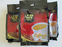 6 Bags,G7 TRUNG NGUYEN INSTNT COFFEE,MIX 3 IN 1(20 SACHETS X 16G/bag)USA Seller