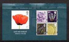 2008 GB LEST WE FORGET Miniature Sheet MS2886 MNH Minisheet UMM Unmounted Mint
