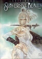 Luis Royo Subversive Beauty HC ~ Tattoos Piercing ~ Art Book  NEW