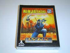 NINJA GAIDEN 3 Atari Lynx * NUOVO E SIGILLATO *