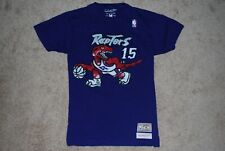 Men's #15 Vince Carter Toronto Raptors Throwback Jersey T-Shirt (Medium)
