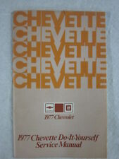 ORIGINAL SURVIVOR 1977 CHEVROLET CHEVETTE DO IT YOURSELF SERVICE MANUAL