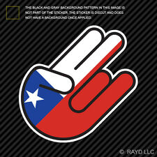 Chilean Shocker Sticker Die Cut Decal Self Adhesive Vinyl Chile CHL CL