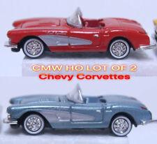 Ho Cmw Lot ( 2 Corvettes )