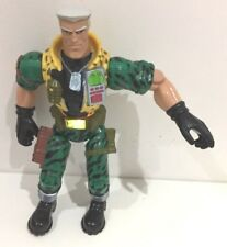 12 INCH SMALL SOLDIERS CHIP HAZARD LIGHT SOUND PUNCH ACTION FIGURE 90'S A85