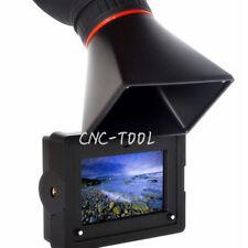 "E-350 3.5"" EVF Electronic View Finder Con Hdmi campo Cámara Monitor LCD viwefinder"