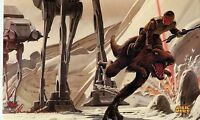 Topps Star Wars Master Visions Promo Trading Card P2 Ralph McQuarrie Large 10x6