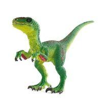 Schleich - Dinos - Velociraptor, grün, Steinzeit, Neu, 14530