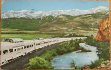 California Zepher Railroad/Locomotive/Train 1953 Postcard