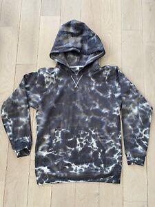 NEW Lululemon All Yours Hoodie Tie Dye Fleece Marmoleado Tie Dye Graphite Grey 6