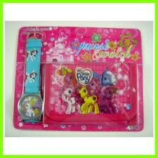 NEW My Little Pony Women Kids Girls Wrist Watch & Purse Wallet 1 SET