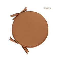 SEAT CUSHION ROUND GARDEN CHAIR PADS OUTDOOR PATIO PARTY DINING CUSHIONS OUTDOOR