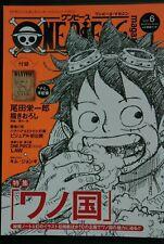 ONE PIECE magazine Vol.6 Wano kuni Country w//Bounty-NAMI Jump Comic JAPAN