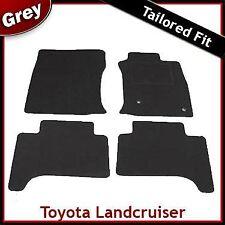 Toyota Land Cruiser Mk3 J120 2002 - 2009 Tailored Fitted Carpet Car Mats GREY