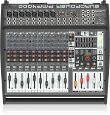 BEHRINGER PMP4000 MIXER AMPLIFICATO 16 CANALI CON EFFETTI 1200W