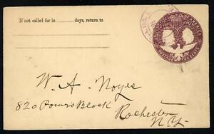 SCOTT U349 1893 2 CENT COLUMBUS & LIBERTY ISSUE TYPE 3 USED ENTIRE VF!