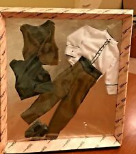 Vintage Mikelman Paul David Dominic Doll Clothes BROWN Outfit NRFB Ken Size