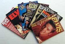 ELVIS PRESLEY Lot Of 7 MAGAZINES Tributes History PHOTOS COLLECTORS ed.THE KING