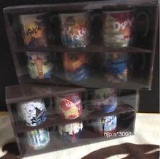STARBUCKS Area Collectible Demi Mug cup Set EAST WEST Japan Limited set RARE!!