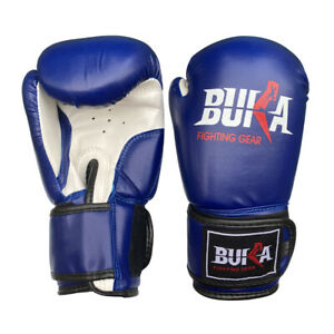 BUKA Boxing Gloves Kids Junior Punching MMA Fight Mitts Children Youth US NEW