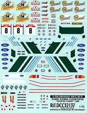 Colorado Decals 1/32 FORD SIERRA COSWORTH Tour de Corse 1988