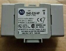 ROCKWELL AUTOMATION  194E-E25-NP  Switch Contact Block, 25 A, 194E-E25 Contactor