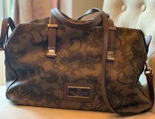 Authentic VALENTINO Garavani Grey Floral Embroidered Bag