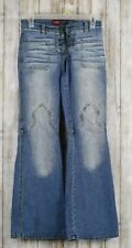 Younique Hippy Lace Up Stretch Flare Jeans Juniors Size 1