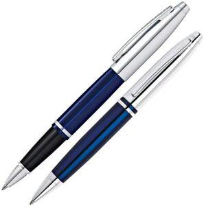 CROSS CALAIS Gift Set Bundle Ballpoint & Rollerball Pen Sets Blue