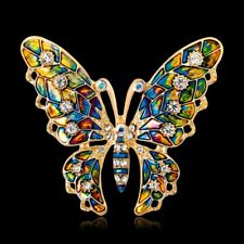 Accessory Butterfly Insect Metal Brooch Lapel Pin Women Gift Fashion Jewelry